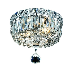 Crystal Ceiling Light - 8-Inches Wide