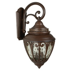 Craftmade Lighting Olivier Aged Bronze Outdoor Wall Light