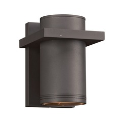 Plc Lighting Boardwalk-Ii Bronze LED Outdoor Wall Light