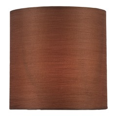 Copper Bronze Cylindrical Lamp Shade with Spider Assembly