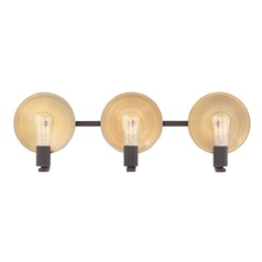 Mid-Century Modern Bathroom Light Oil Rubbed Bronze Boyer by Hinkley Lighting