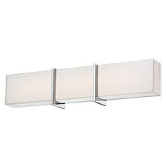 Minka Lighting High Rise LED Bathroom Light in Chrome Finish