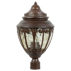 Craftmade Lighting Olivier Aged Bronze Post Light