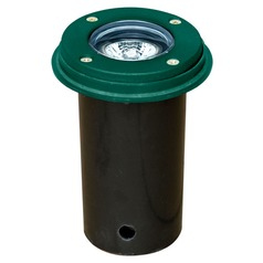 Green Cast Aluminum In-Ground Well Light