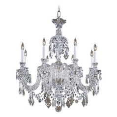 Crystal Chandelier in Clear Crystal Finish