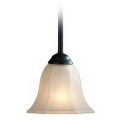 Dolan Designs Lighting Mini-Pendant with Franciscan Glass 771-34