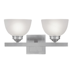 Livex Lighting Somerset Brushed Nickel Bathroom Light