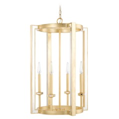 Capital Lighting Abella Capital Gold Pendant Light