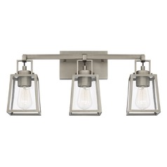 Capital Lighting Kenner Antique Nickel Bathroom Light