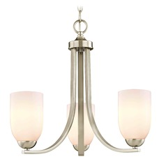 Satin Nickel Mini-Chandelier