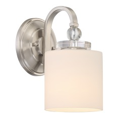Quoizel Lighting Downtown Brushed Nickel Sconce