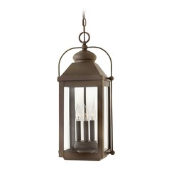 Hinkley Lighting Anchorage Light Oiled Bronze Outdoor Hanging Light