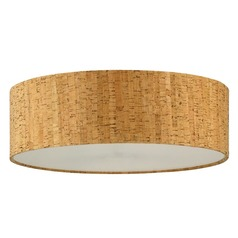 Cork Drum Lamp Shade