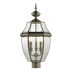 Cornerstone Lighting Ashford Antique Nickel Post Light