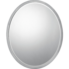 Oval 20-Inch Quoizel Mirror