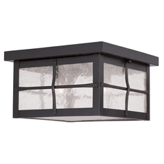 Livex Lighting Brighton Hammered Bronze Close To Ceiling Light