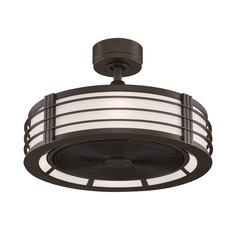 Fanimation Fans Beckwith Oil-Rubbed Bronze Ceiling Fan with Light
