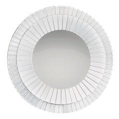 Muse Round 35.75-Inch Decorative Mirror