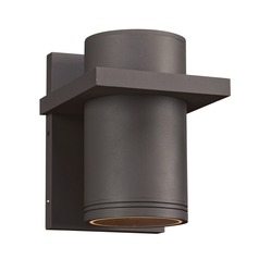 Plc Lighting Boardwalk-Iii Silver LED Outdoor Wall Light