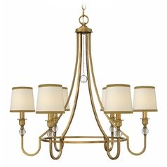 Hinkley Morgan Brushed Bronze Chandelier
