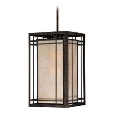 Quoizel Lighting Quoizel Lighting Hillcrest Imperial Bronze Outdoor Hanging Light HC5203IB