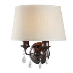 Sea Gull Lighting West Town Burnt Sienna Sconce