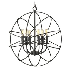 Elk Lighting Yardley Oil Rubbed Bronze Chandelier