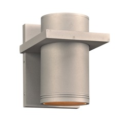 Plc Lighting Boardwalk-Iii Brushed Aluminum LED Outdoor Wall Light