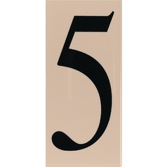 Modern House Number