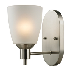 Cornerstone Lighting Jackson Brushed Nickel Sconce