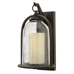 Hinkley Lighting Quincy Oil Rubbed Bronze Outdoor Wall Light