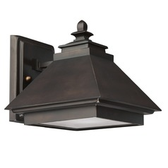 Capital Lighting Dark Sky Med. Bronze Outdoor Wall Light