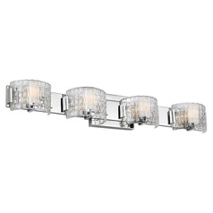 Feiss Lighting Brinton Chrome LED Bathroom Light