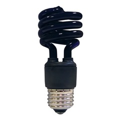 Satco Products, Inc. 13-Watt Compact Fluorescent Blacklight S7277
