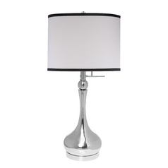 Design Classics Polished Chrome Table Lamp  DCL M6717-540