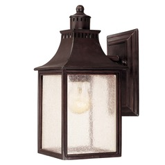 Savoy House English Bronze Outdoor Wall Light