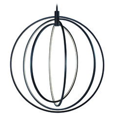 Concentric Bronze LED Pendant Light