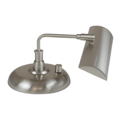 House of Troy Zenith Satin Nickel LED Piano / Banker Lamp
