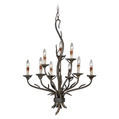 Monterey Autumn Patina Chandelier by Vaxcel Lighting
