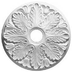 Decorative Ceiling Medallion - 19-1/8-Inches Wide