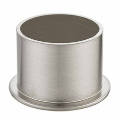 Satin Nickel Light Socket Cover