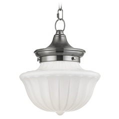 Dutchess 1 Light Mini-Pendant Light - Satin Nickel