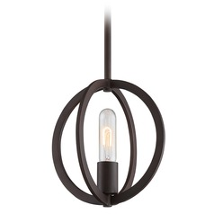 Quoizel Lighting Orion Western Bronze Mini-Pendant Light