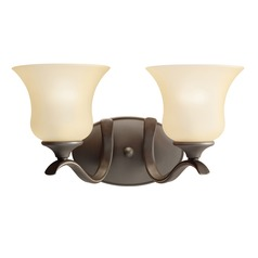 Kichler Lighting Wedgeport Olde Bronze LED Bathroom Light