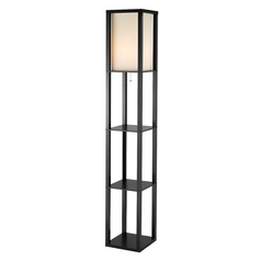Adesso Home Lighting Titan Black Floor Lamp
