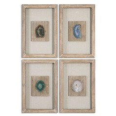Uttermost Agate Stone, Set of 4
