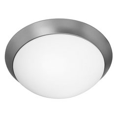 Access Lighting Cobalt Brushed Steel LED Flushmount Light
