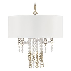 Capital Lighting Ava Sable Pendant Light with Drum Shade