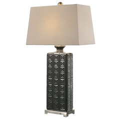 Uttermost Casale Aged Grey Lamp