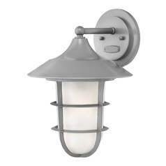 Hinkley Lighting Marina Hematite Outdoor Wall Light